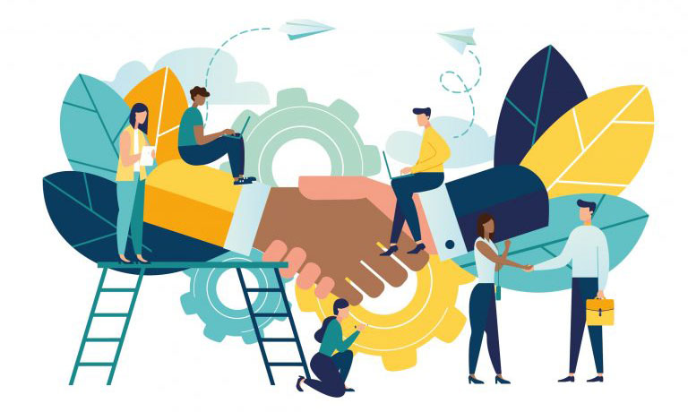 همکاری در فروش نرم افزار حسابداری محک